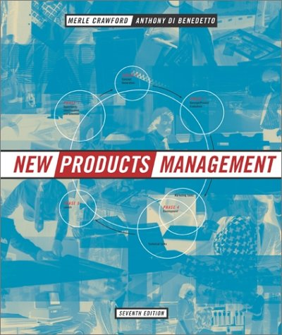 New Products Management  7th 2003 (Revised) 9780072471632 Front Cover