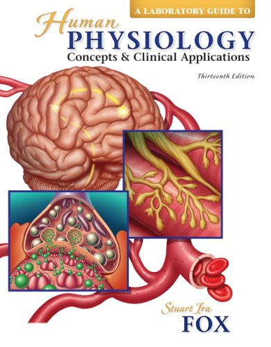 Laboratory Guide to accompany Human Physiology  13th 2009 edition cover