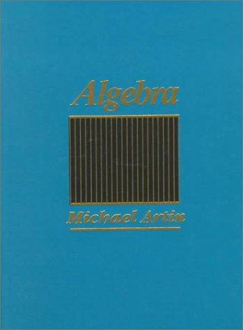 Algebra   1991 edition cover