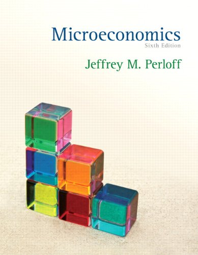 Microeconomics  6th 2012 9780131392632 Front Cover