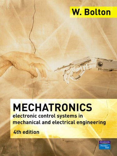 Mechatronics A Multidisciplinary Approach 4th 2008 edition cover