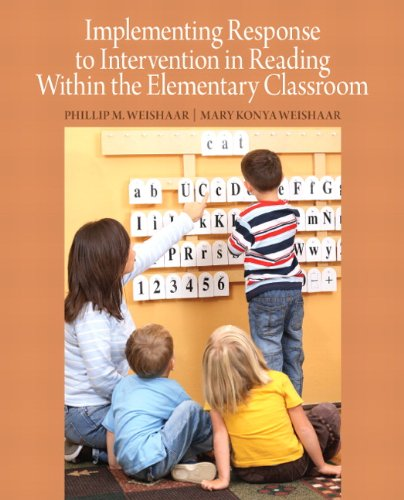 Implementing Response to Intervention in Reading Within the Elementary Classroom   2012 (Revised) edition cover