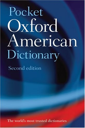 Pocket Oxford American Dictionary  2nd 2008 edition cover