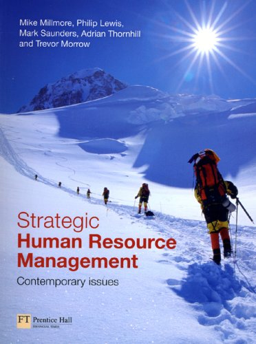 Strategic Human Resource Management Contemporary Issues  2007 9780273681632 Front Cover