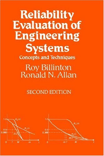Reliability Evaluation of Engineering Systems Concepts and Techniques 2nd 1992 (Revised) 9780306440632 Front Cover