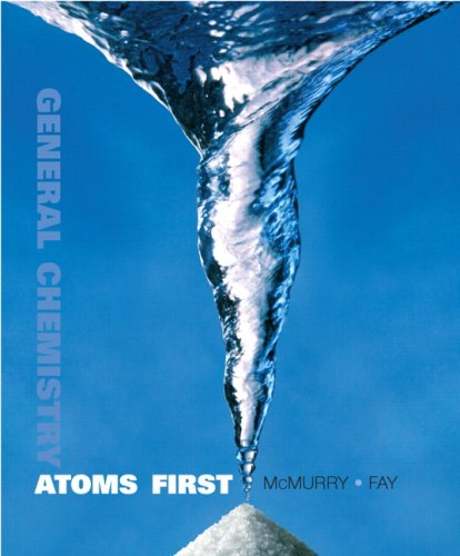 General Chemistry Atoms First  2010 edition cover