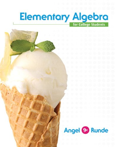 Elementary Algebra for College Students + New Mymathlab With Pearson Etext Access Card:   2013 edition cover