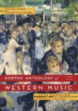 The Norton Anthology of Western Music:   2014 9780393921632 Front Cover