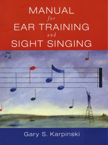 Manual for Ear Training and Sight Singing   2005 edition cover
