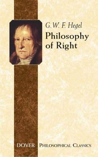 Philosophy of Right   2005 edition cover