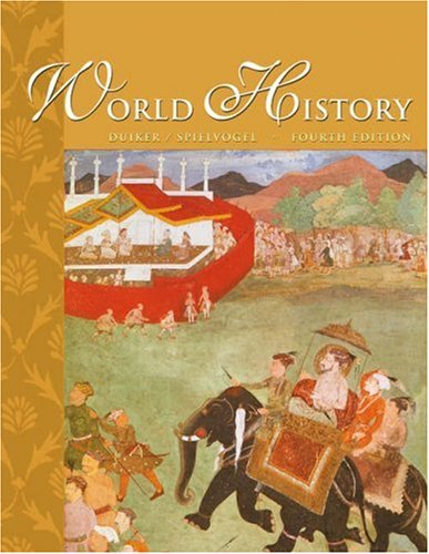 World History (with InfoTrac)  4th 2004 (Revised) edition cover