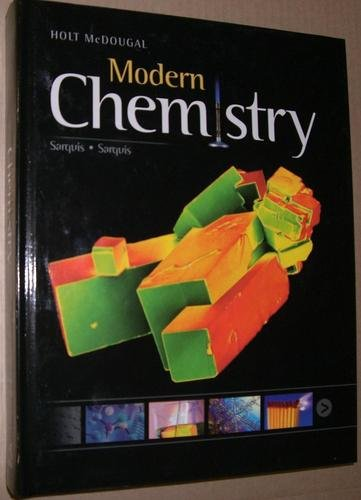 Modern Chemistry   2011 (Student Manual, Study Guide, etc.) 9780547586632 Front Cover