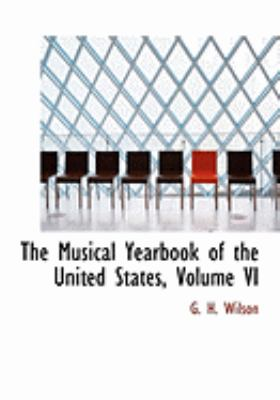 The Musical Yearbook of the United States:   2008 edition cover