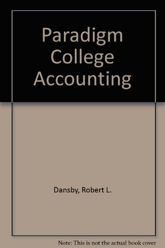 College Accounting : Study Guide and Working Papers 1-18 4th 2000 9780763801632 Front Cover