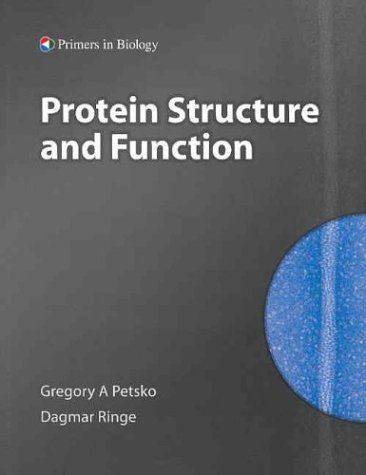 Protein Structure and Function   2004 edition cover
