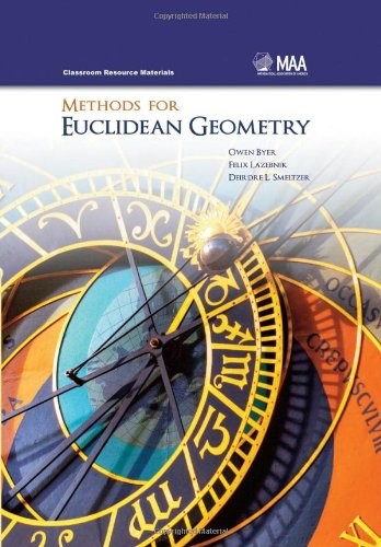 Methods for Euclidean Geometry   2010 edition cover