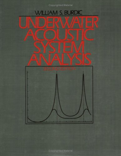 Underwater Acoustic System Analysis: 1st 2003 9780932146632 Front Cover