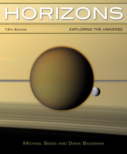 Horizons Exploring the Universe 13th 2014 edition cover