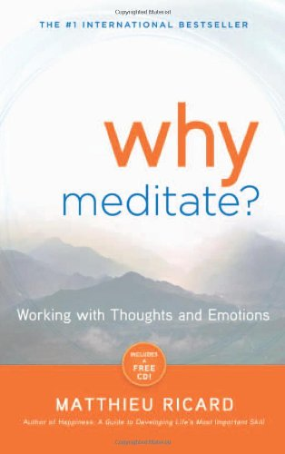Why Meditate Working with Thoughts and Emotions  2010 edition cover