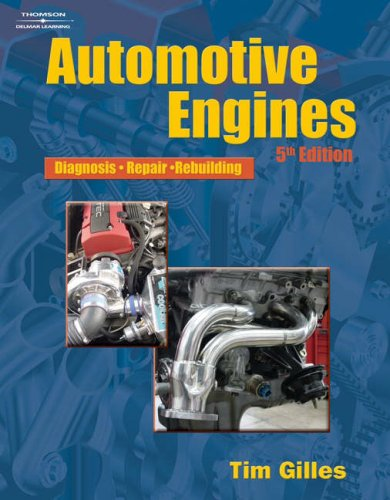 Automotive Engines Diagnosis, Repair, Rebuilding 5th 2007 (Revised) edition cover