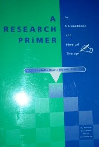 Research Primer for Occupational and Physical Therapy 1st edition cover