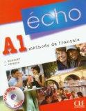 Echo (Nouvelle Version): Livre De L'Eleve + Portfolio + DVD-Rom A1  0 edition cover
