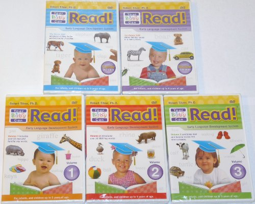 Your Baby Can Read Early Language Develpment System DVD SET System.Collections.Generic.List`1[System.String] artwork