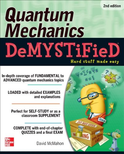 Quantum Mechanics  2nd 2013 9780071765633 Front Cover