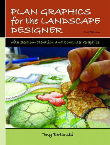 Plan Graphics for the Landscape Designer With Section-Elevation and Computer Graphics 2nd 2007 (Revised) edition cover