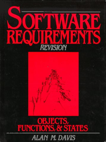 Software Requirements Objects, Functions and States 2nd 1993 (Revised) edition cover