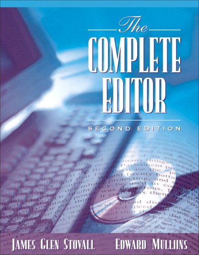 Complete Editor  2nd 2006 (Revised) 9780205434633 Front Cover