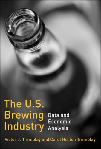 U. S. Brewing Industry Data and Economic Analysis  2009 9780262512633 Front Cover