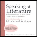 LITERATURE+ITS WRITERS-SPEAK.. 3rd 2004 9780312411633 Front Cover
