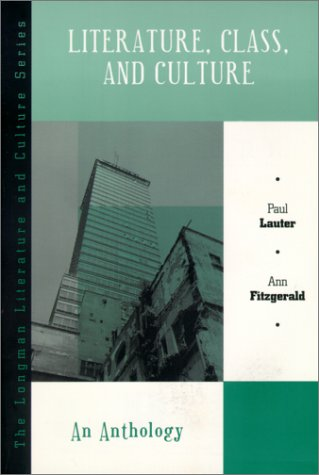 Literature, Class, and Culture An Anthology  2001 edition cover