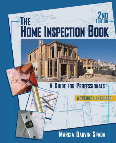 Home Inspection Book A Guide for Professionals 2nd 2008 (Revised) edition cover