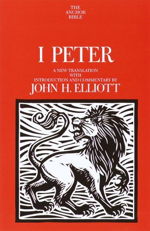 I Peter A New Translation with Introduction and Commentary  2000 edition cover