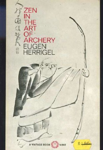 Zen in the Art of Archery N/A 9780394716633 Front Cover