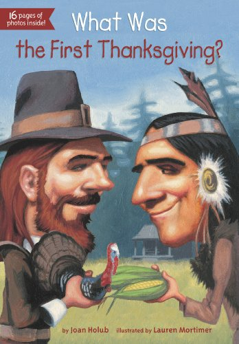 What Was the First Thanksgiving?  N/A edition cover
