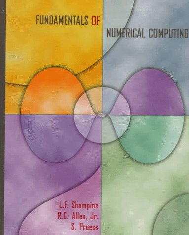 Fundamentals of Numerical Computing   1997 9780471163633 Front Cover