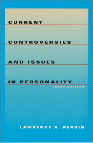 Current Controversies and Issues in Personality  3rd 2002 (Revised) edition cover