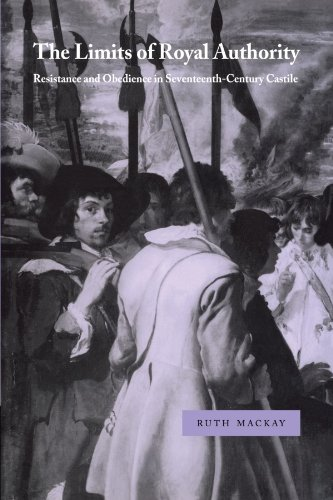 Limits of Royal Authority Resistance and Obedience in Seventeenth-Century Castile N/A 9780521033633 Front Cover