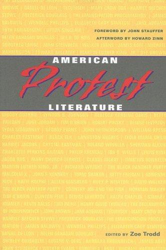 American Protest Literature   2006 edition cover