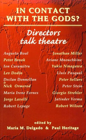 In Contact with the Gods? Directors Talk Theatre  1996 edition cover