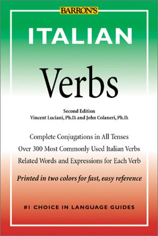 Italian Verbs  2nd 2002 9780764120633 Front Cover