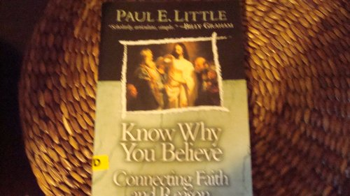 Know Why You Believe 5th 2003 edition cover