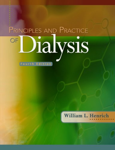 Principles and Practice of Dialysis  4th 2009 (Revised) edition cover