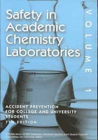 Safety in Academic Chemistry Laboratories Prevention for College and University Students 7th 2003 edition cover