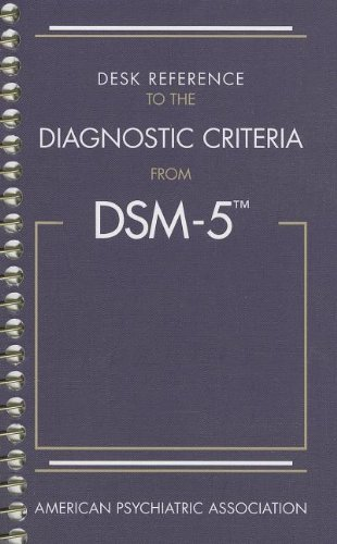 Diagnostic Criteria from DSM-5  N/A edition cover