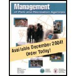 Management of Park and Recreation Agencies, 2nd Edition 2nd 2004 edition cover