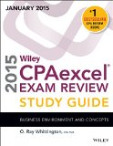 Wiley Cpaexcel Exam Review 2015 Study Guide January: Business Environment and Concepts  2014 9781118917633 Front Cover